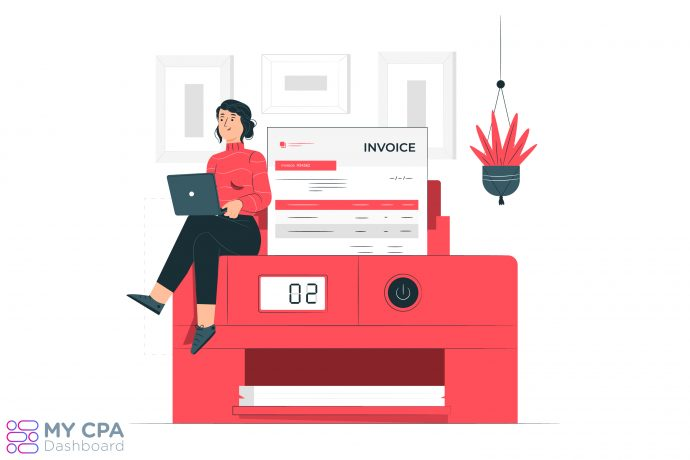 Invoice in Accounting Software